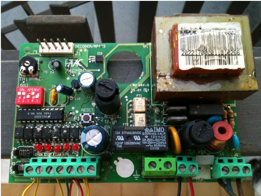 Schema Elettrico Scheda Faac 450 Mps : Schema elettrico scheda faac mp fare di una mosca