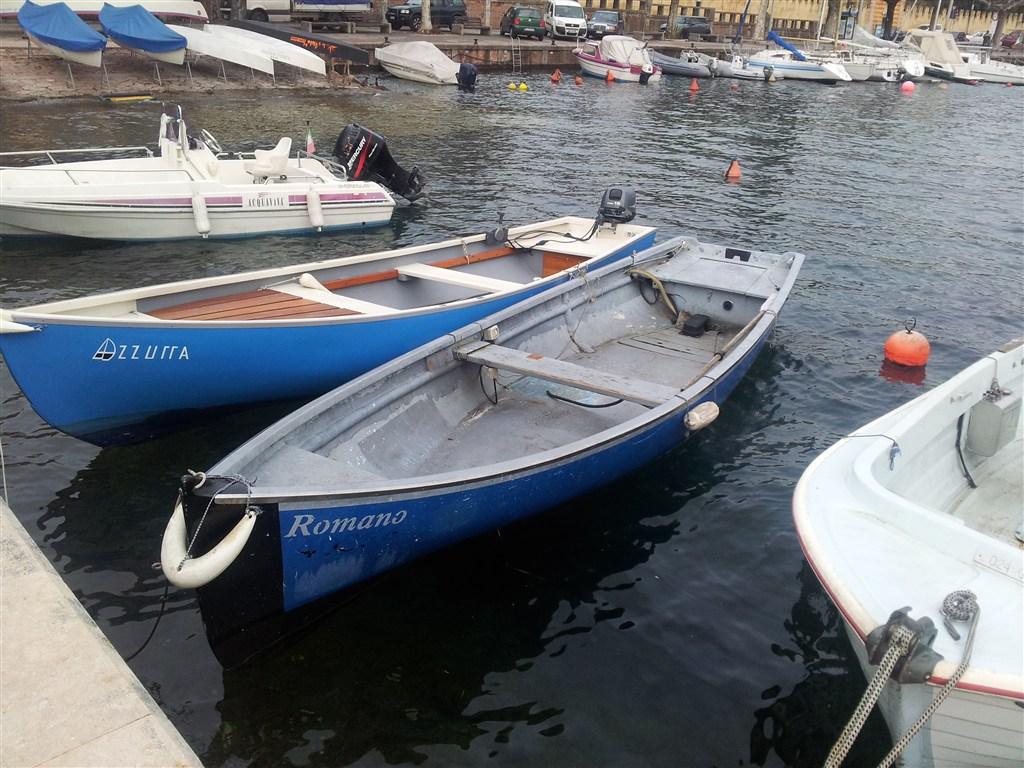 Barca da pesca la combriccola del garda for Barca lancia vetroresina