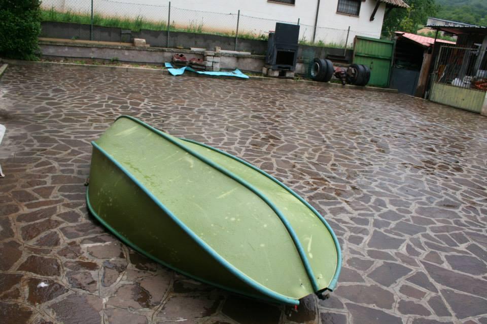 Barca pieghevole mariposa verde carpmercatino - Barca porta bote ...