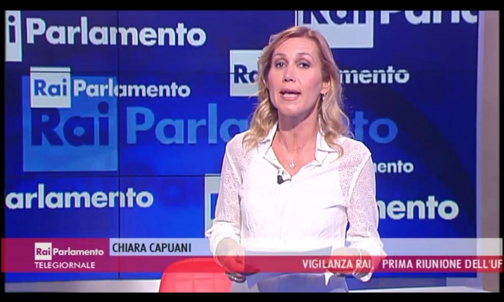 Chiara capuani tg parlamento telegiornaliste fans forum for Parlamento rai