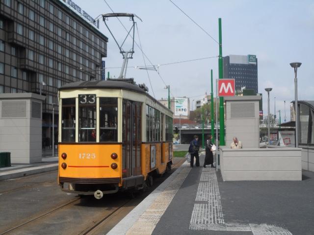 Tram di milano 113 mondo tram forum - Passante ferroviario porta garibaldi ...